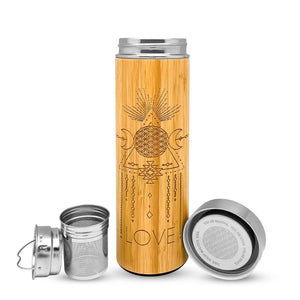 16.9oz LOVE Bamboo Tumbler