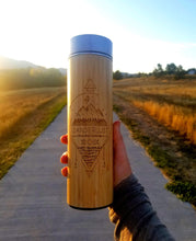 Load image into Gallery viewer, 16.9oz WANDERLUST Bamboo Tumbler