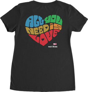 All You Need is Love Ladies V-Neck