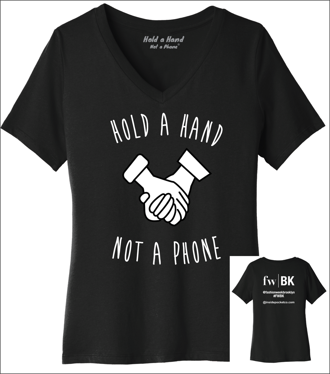 Ladies V-Neck - FWBK Edition (Black or Grey)