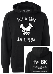 Hooded Pullover Sweatshirt - FWBK Edition (Black or Grey)