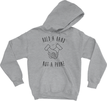 Load image into Gallery viewer, Hooded Pullover Sweatshirt - Offline October Edition (Black or Grey)