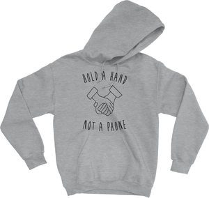 Hooded Pullover Sweatshirt - Offline October Edition (Black or Grey)