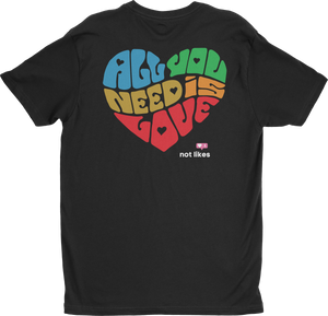 All You Need is Love Mens Crew Neck
