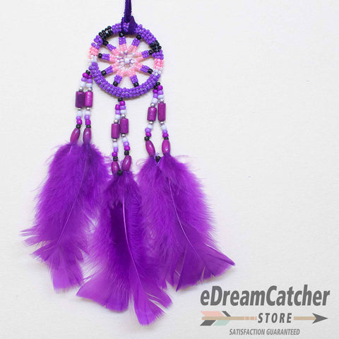 Beaded 8 Spoke Dreamcatcher 2 inch
