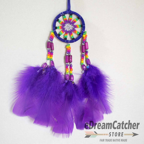 Leather Dreamcatcher 2 inch