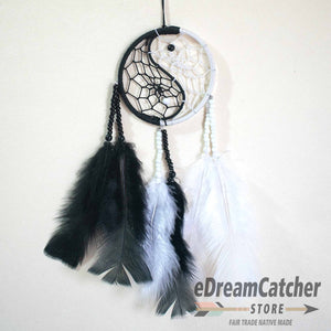 Yin Yang Thread Dreamcatcher 3 inch
