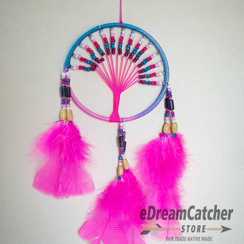 Image of Tree of Life Thread Dreamcatcher 4 inch