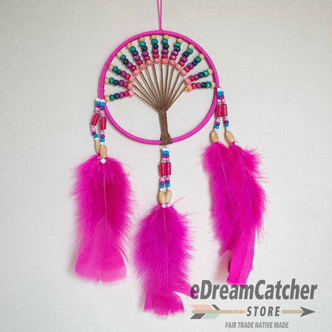 Tree of Life Thread Dreamcatcher 4 inch