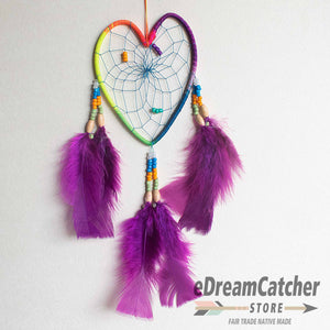 Heart Thread Dreamcatcher 4 inch