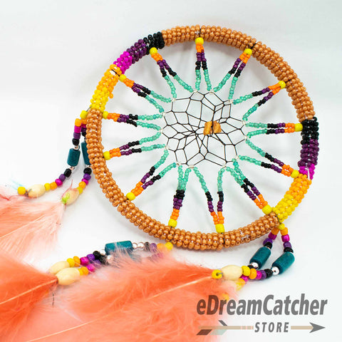 Image of Beaded Dreamcatcher 6 inch