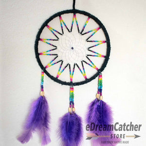 Leather Dreamcatcher 6 inch