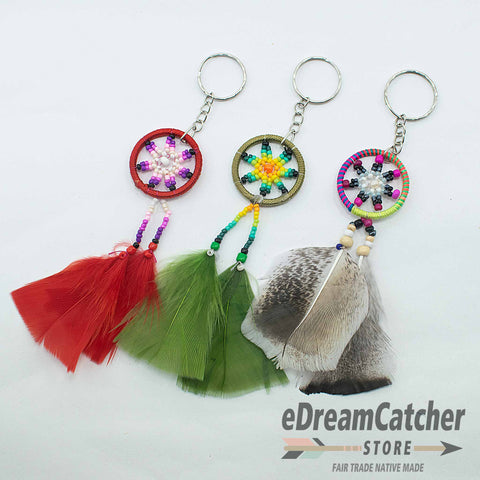 Thread Dreamcatcher Key Chain