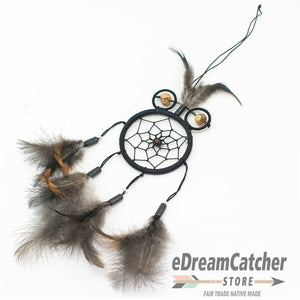 Owl Thread Dreamcatcher 2.5 inch