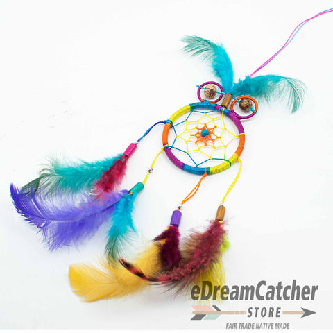 Image of Owl Thread Dreamcatcher 2.5 inch