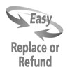 Image of Easy Replacement or Refund
