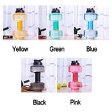 Dumbbell Water Bottle - Gym Workout Shop