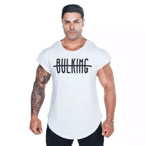 Gym T-Shirt For Men - BULKING - Crossed - Gym Workout Shop