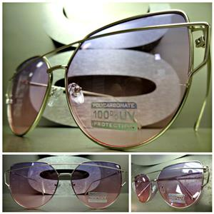 8b2a19a4c45da Trendy Cat Eye Sunglasses- Silver Frame  Purple   Pink Lens – SAAK ...