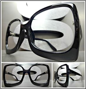 faece9dbf Retro LENSLESS (NO LENS) Fashion Eye Glasses- Black Frame – SAAK EYEWEAR