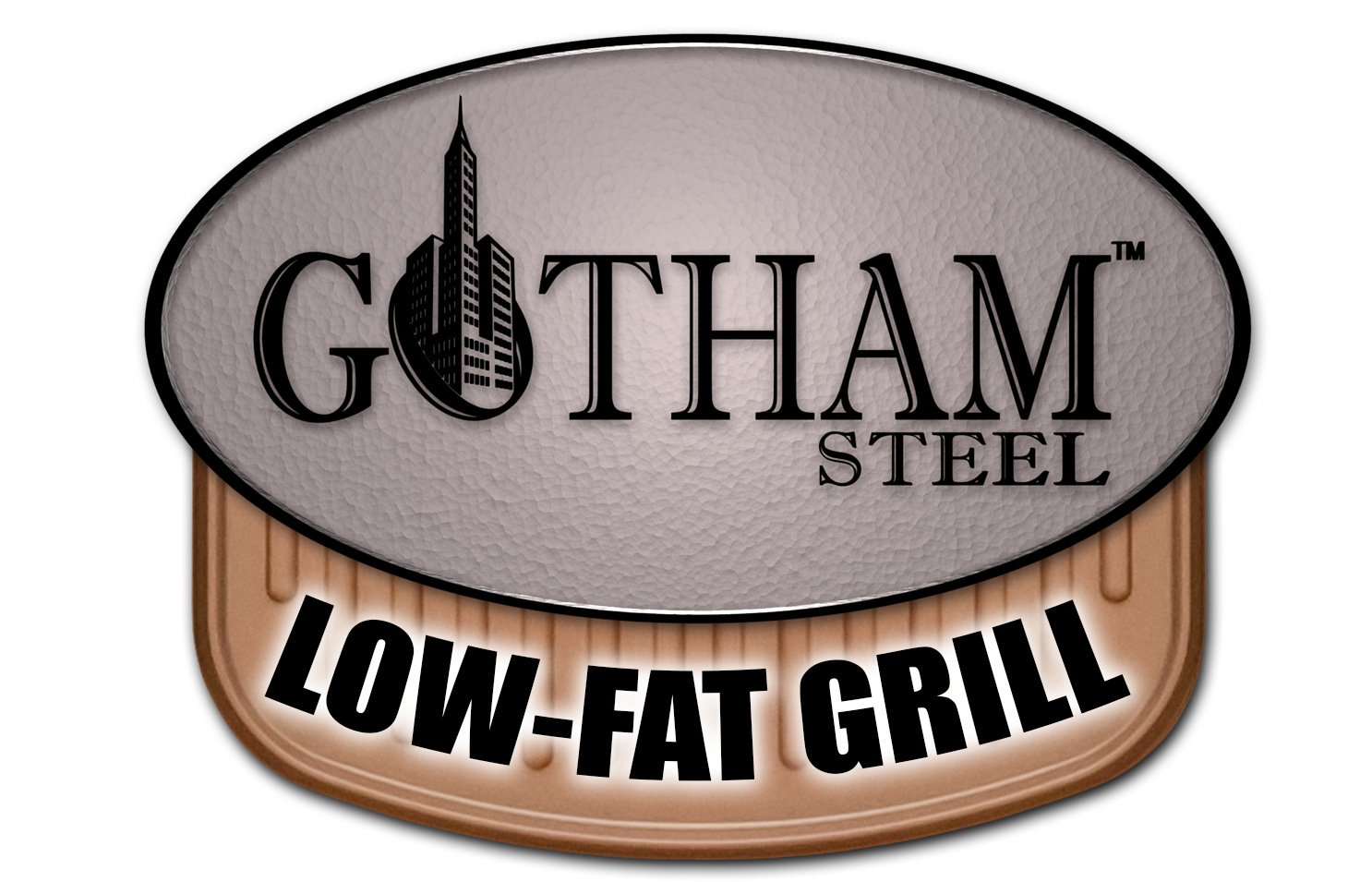 Gotham Steel Low-Fat Grill | Make healthy low-fat food