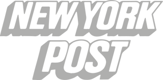 New York Post Logo in grey. Petite Subscription Box