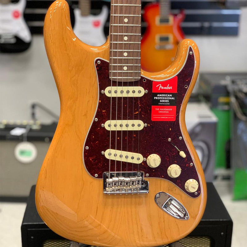 Fender Limited Edition Ash American Pro Stratocaster Electric Guitar (Open Box)