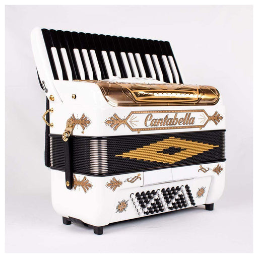 Cantabella Rey Chromatic Accordion 5 Switch Gold