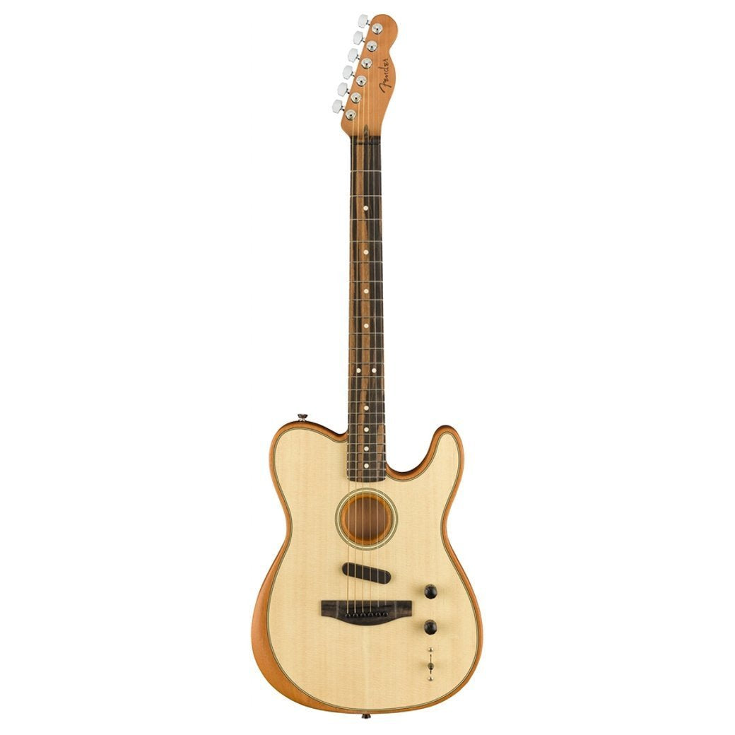 Fender Acoustasonic Telecaster Natural with Case