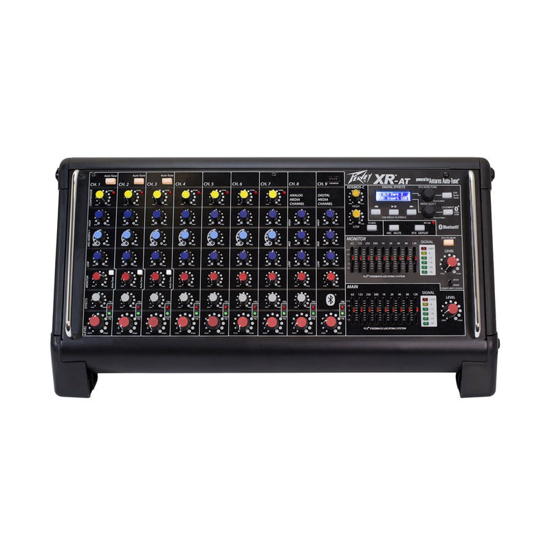 Peavey XR-AT 1000W 9-Channel Amplified Mixer With Wireless Capabilities