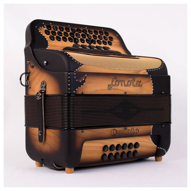 Sonola Quinto Accordion 5 Switches FBE Matte Wood