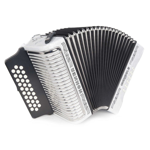 Hohner Corona II GCF White Accordion