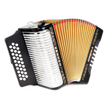 Hohner Corona II Accordion FBE Black
