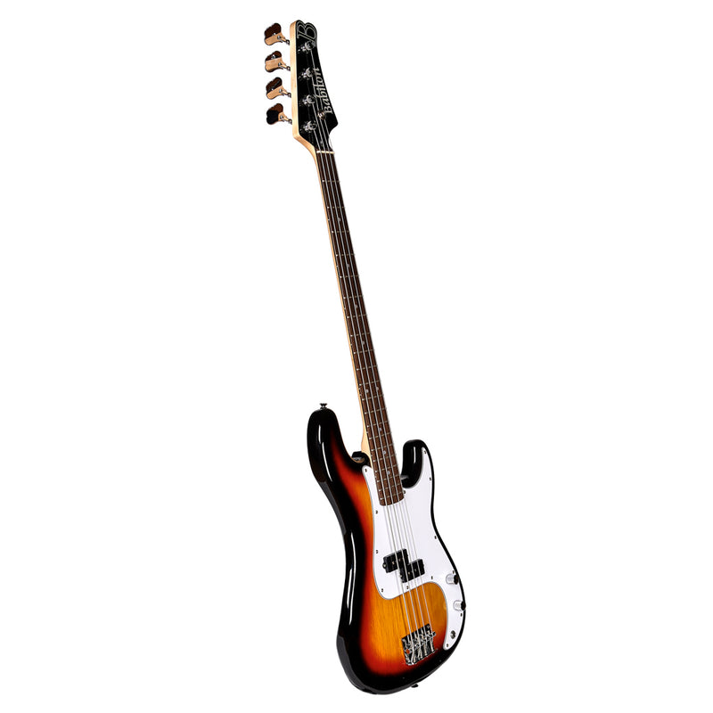 Babilon Electric Bass Guitar Bundle Sunburst
