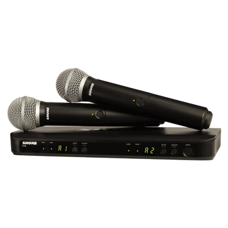 Shure BLX288/PG58 Microphone System