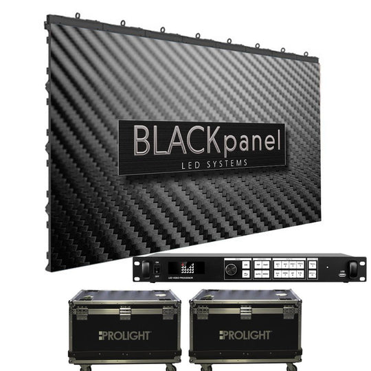 Prolight Blackpanel LS 391 LED Panel Package  LS391 X12-VX4S