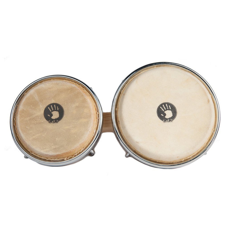 "5D2 Bongos 7.5"" Y 8.5"" Chrome Hardware - Natural"