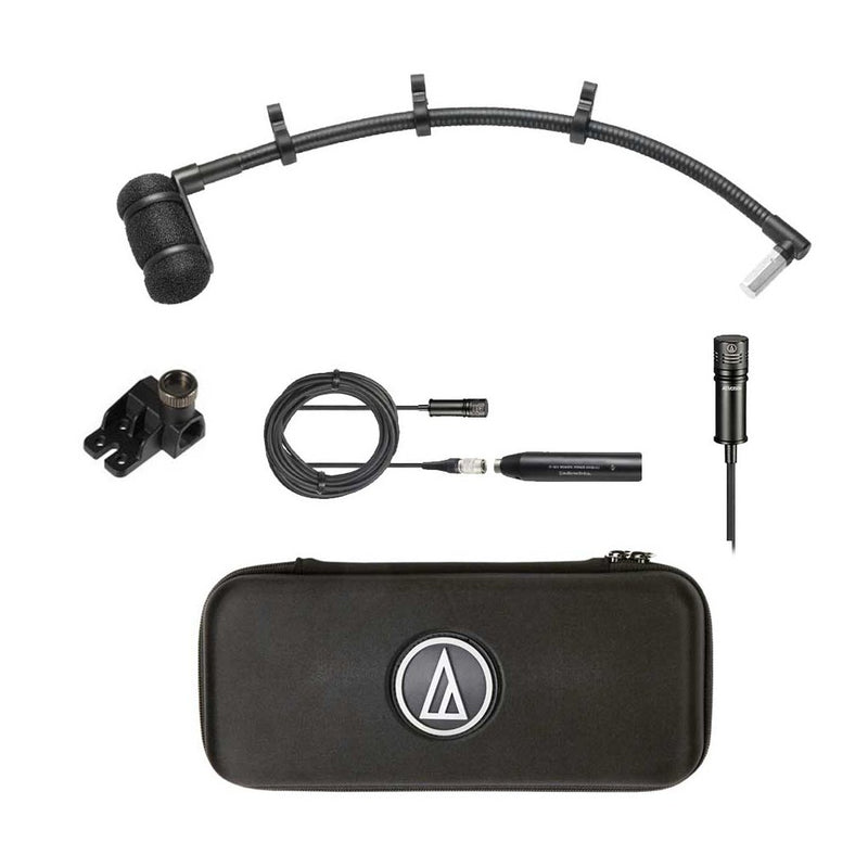Audio Technica ATM350S Clip-on Instrument Microphone with Long UniMount