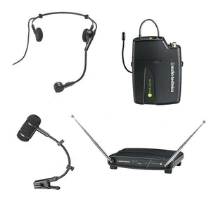 Audio Technica 901 Wireless Headworn Microphone System with Pro 35cW Mic