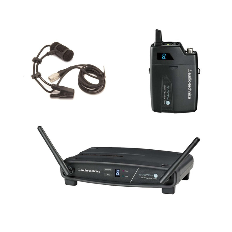 Audio Technica System 10 Wireless System for Accordion Bundle