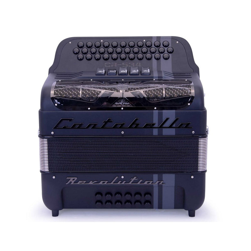 Cantabella Revolution 534 EAD Matte Black - 5 Switches