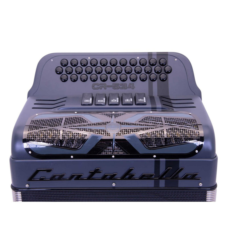 Cantabella Revolution 534 EAD Matte Gray - 5 Switches