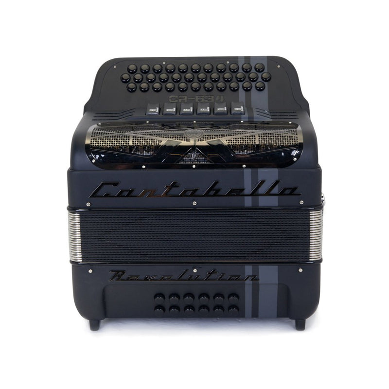 Cantabella Revolution 634 FBE and EAD Matte Black- 2 Tone 6 Switches