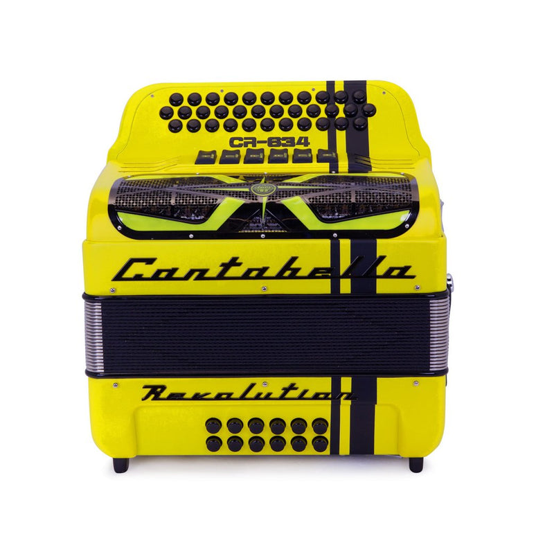 Cantabella Revolution 634 FBE and EAD Matte Yellow- 2 Tone 6 Switches