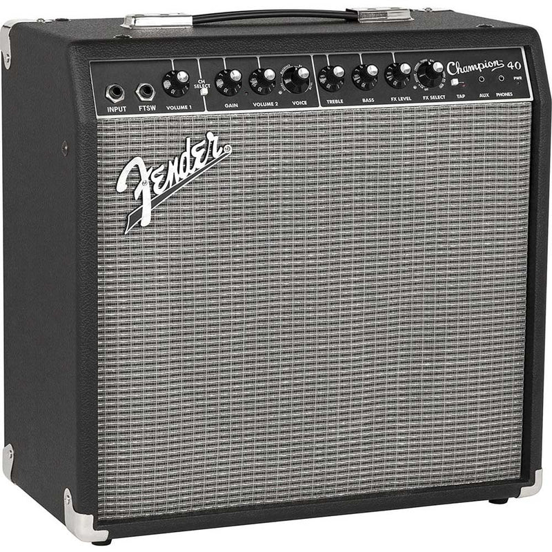 "Fender Champion 40 1x12"" 40-watt Electric Guitar Amp"