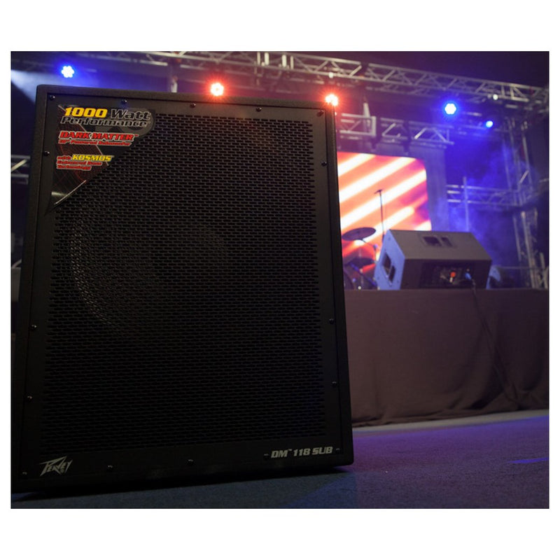 "Peavey DM 118 800W 18"" Powered Subwoofer"