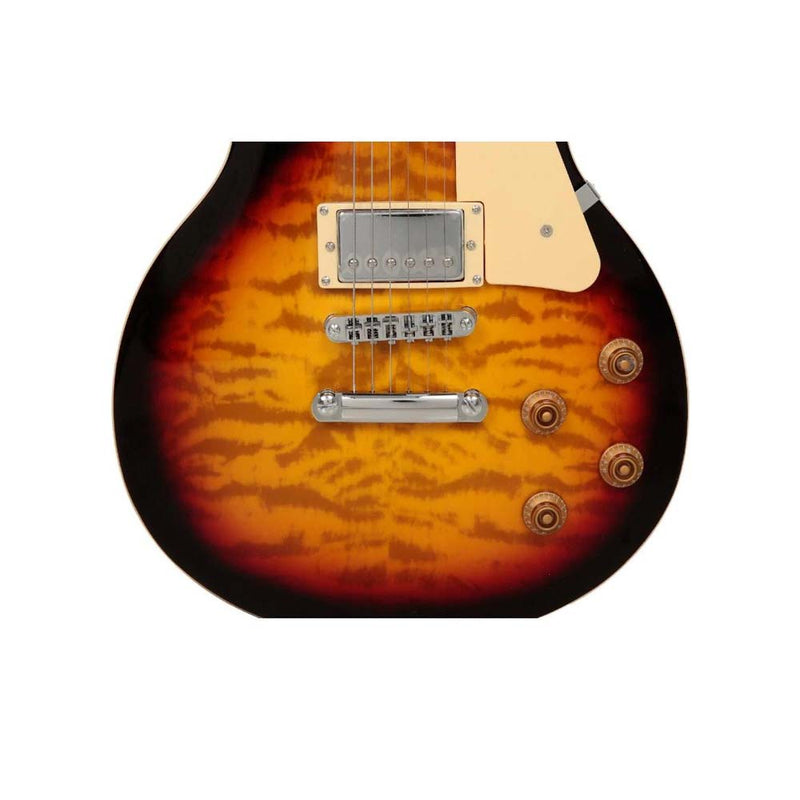 Babilon Earthquake Electric Guitar Cherry Sunburst