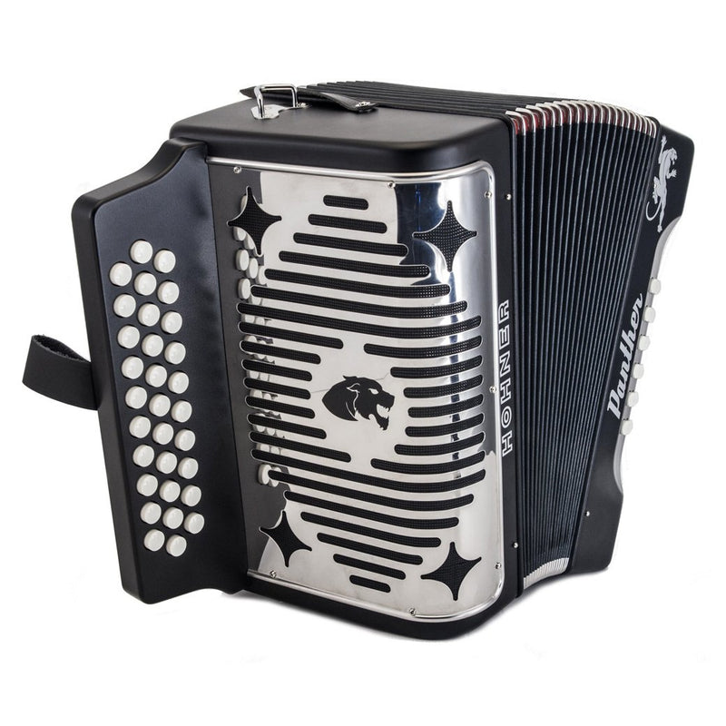 Hohner Panther FBE Package With Accordion Case