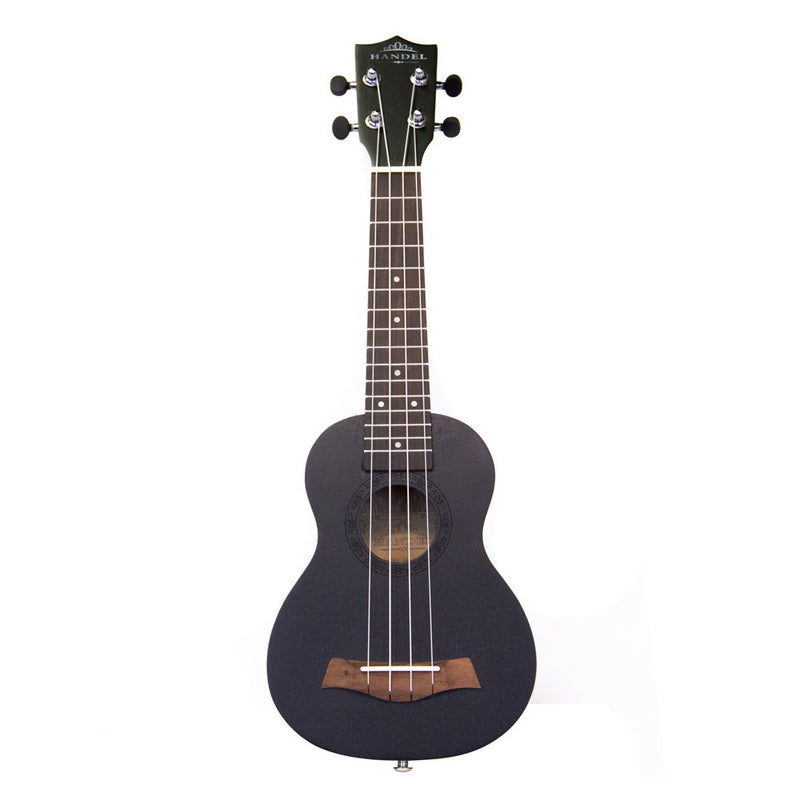 Handel 21in Black Ukulele with Bag