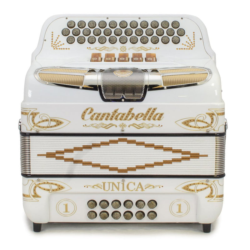 Cantabella Única 5 Switches FBE White with Gold Details